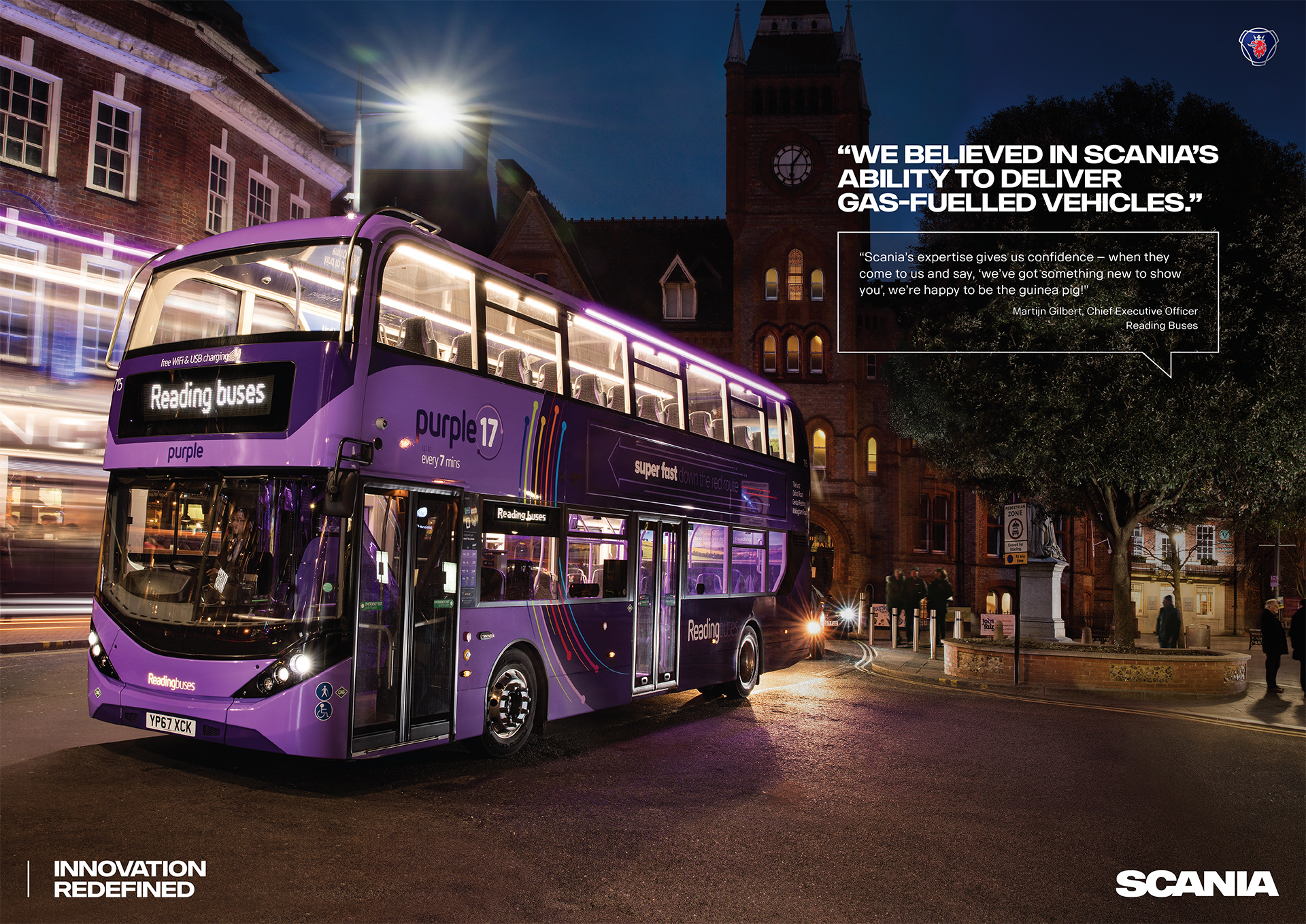 Scania Bus and Coach Advert